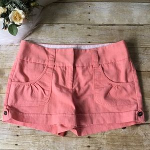 Maurice's Pink Smart Shorts Size 12